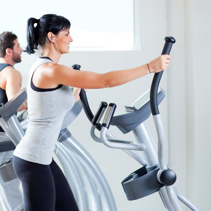 Cardio Workout: Full-Body Elliptical