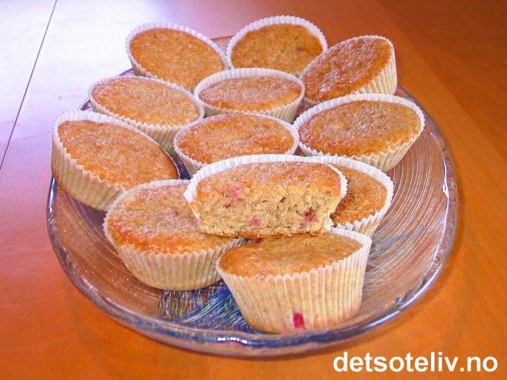 Kryddermuffins med rips | Det søte liv
