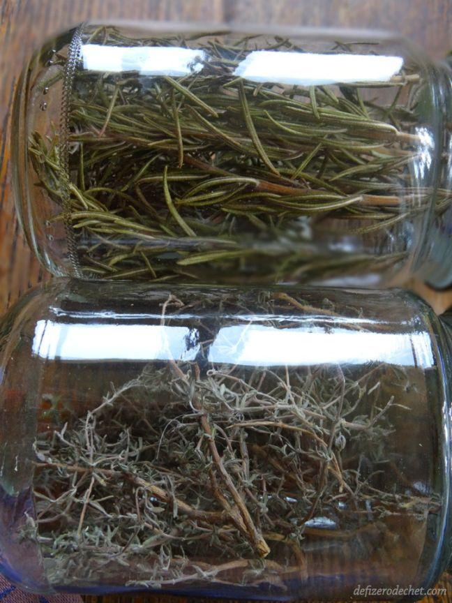 faire ses sécher ses propres herbes aromatiques