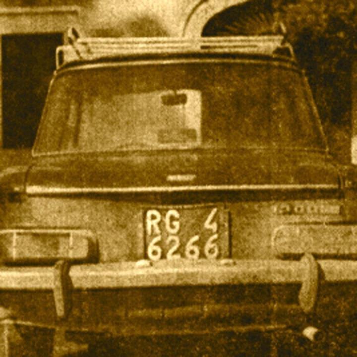 L'auto dell'ingegnere Tumino ritrovata
