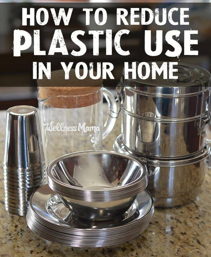 How to Reduce Plastic Use in the Home