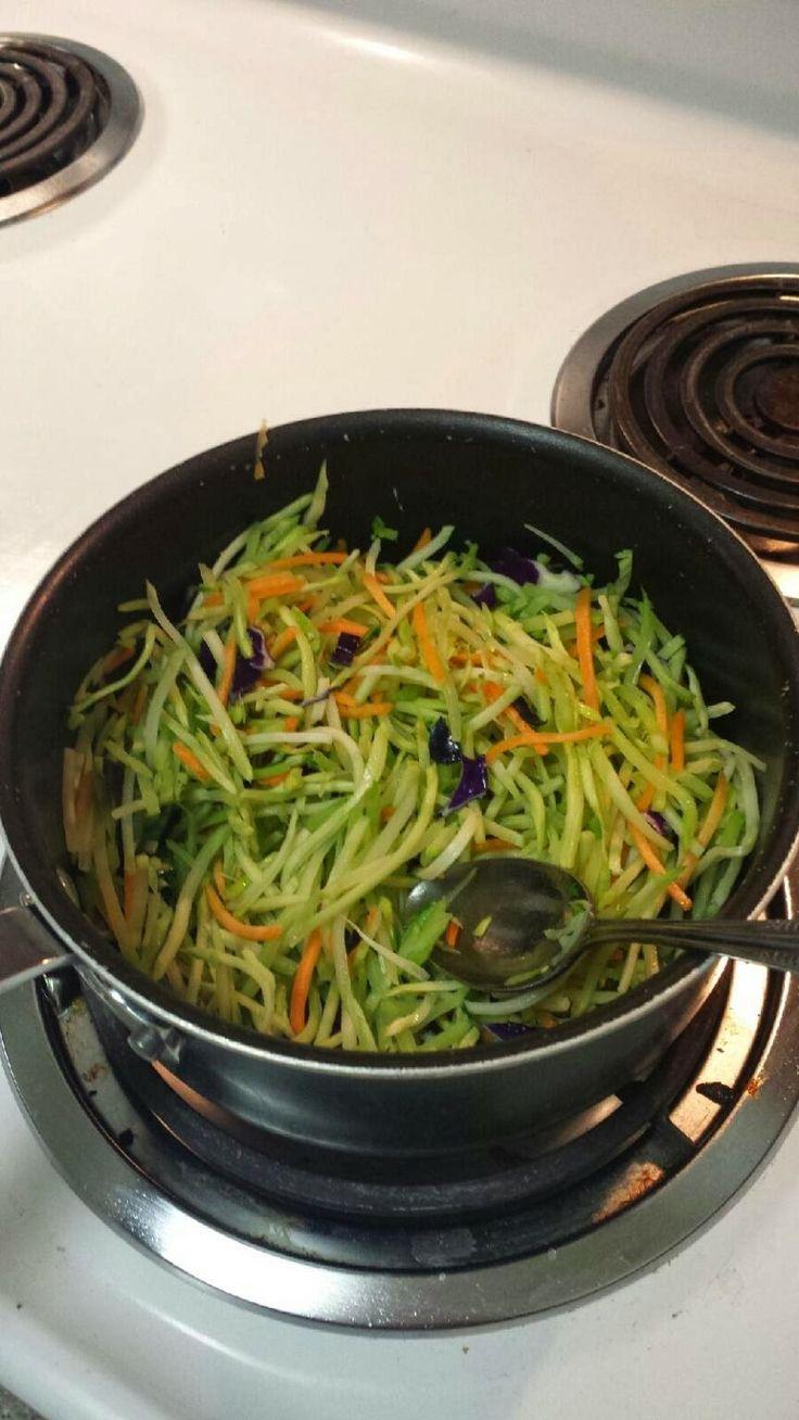 "Recipes to Remember: Broccoli Slaw ""Pasta"""