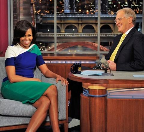 Michelle Obama in Preen Pre-Fall 2012