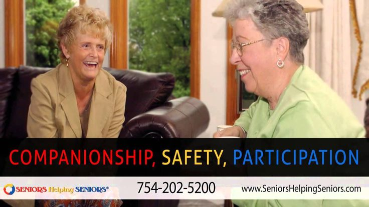 Seniors Helping Seniors, Central and Southwest Broward County, Florida