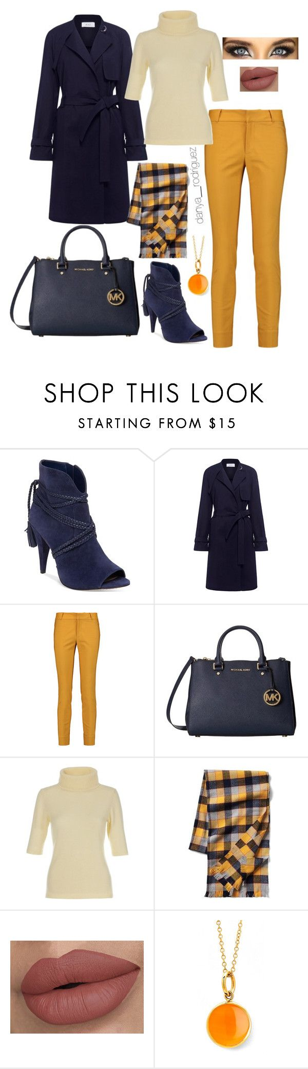 """""""Sin título #110"""" by sousou2578 on Polyvore featuring moda, Vince Camuto, A.L.C., Raoul, Michael Kors, Gap y Syna"""
