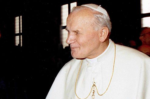 Pope John Paul II, born Karol Wojtyła, will be officially declared a saint in the Vatican on 27 April. He will be among the best known saints from Poland, among them St. Adalbert of Prague, St. Maximilian Maria Kolbe, St. Faustina Kowalska and St. Andrew Bobola.
