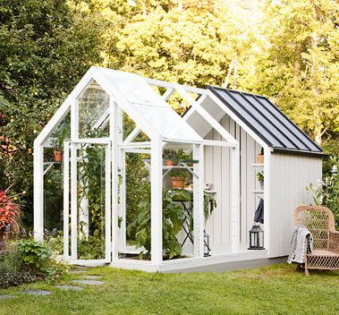 Garden Shed from Kekkila (unfortunately, can't be purchased in US, looks like I'll have to build it!)