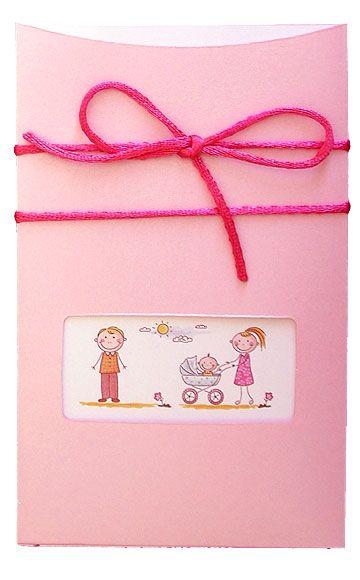 Προσκλητήριο συρόμενο για γάμο και βάπτιση μαζί κατασκευασμένο με ροζ ιριδίζον χαρτί. Στο εσωτερικό κάρτα με το την εκτύπωση του κειμένου και χιουμοριστική διακόσμηση (κόμιξ). Δεμένο με λευκό σατέν κορδονάκι. http://www.prosklitirio-eshop.gr/