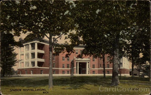 Lansing MI Sparrow Hospital