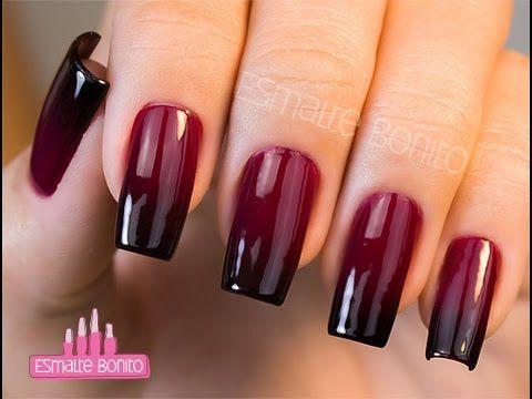 Passo a passo 5 Francesinhas Diferente | French nails | Aline Makelyne - YouTube