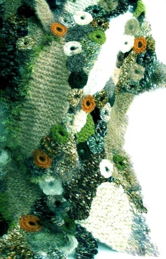 The 208 best Knitting - Freeform images on Pinterest   Freeform ...