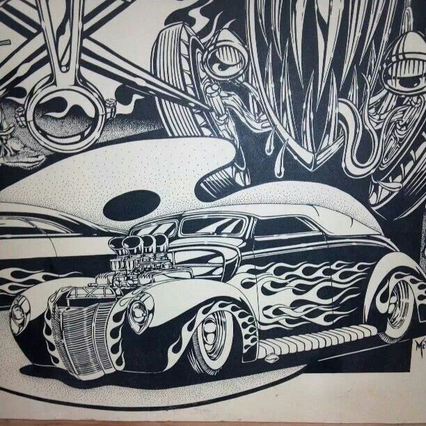 80 best Car-Tune Art images on Pinterest | Car drawings, Drawings of ...