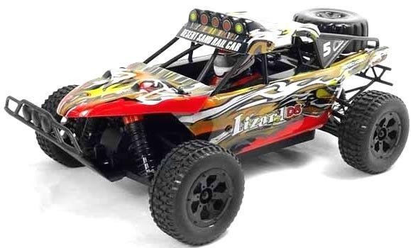 Lizard 1/18th Scale 4WD Electric RC Trophy Truck - 2.4Ghz http://www.nitrotek.co.uk/241.html