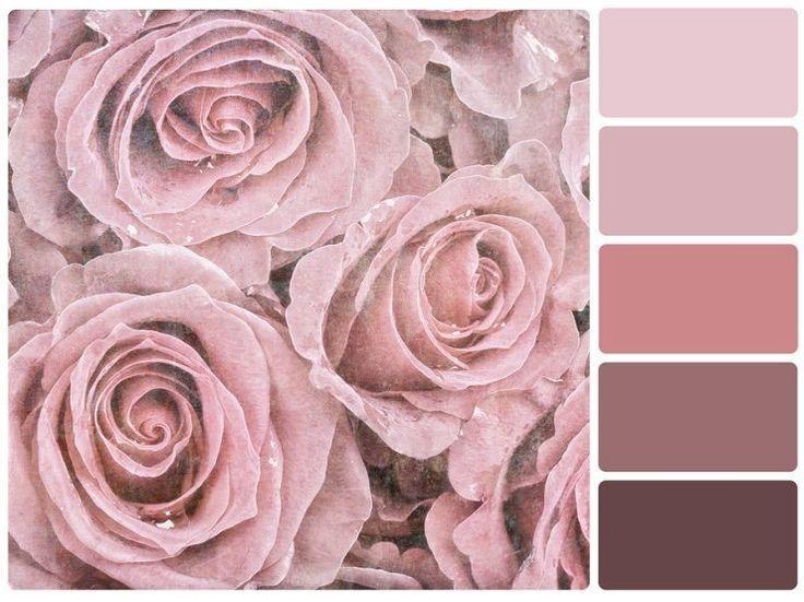 Die Nuancen Von Altrosa Altrosa Bluetoweldecor Die Nuancen Von Old Rose Color Palette Old Rose Color Pink Bedroom Decor