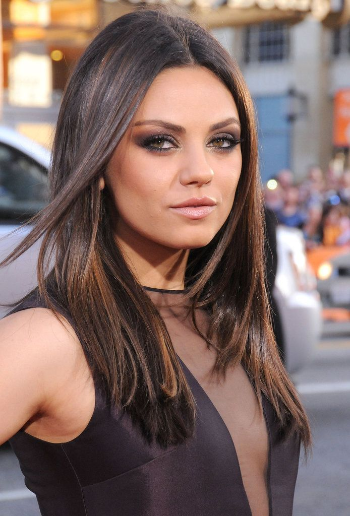 Mila Kunis Hair and Makeup Pictures | POPSUGAR Beauty