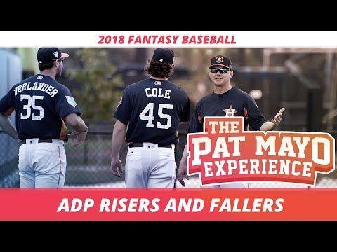 2018 Fantasy Baseball Rankings: Early ADP Risers and Fallers