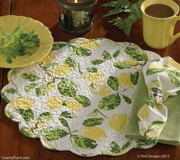 Lemons Kitchen Decorating Theme by Park Designs at The Country Porch