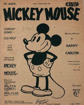 El mundo de desenhos: Michey mouse