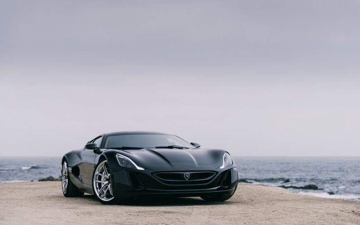 Rimac concept one, sports car, front, 2017