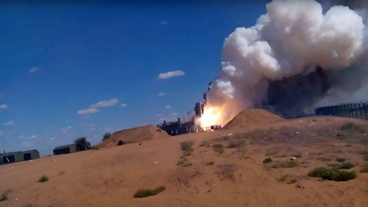 Test von S-300 Luftabwehrrakete: Russische Rakete fackelt Startrampe ab - http://ift.tt/2hcHK4M #nachrichten