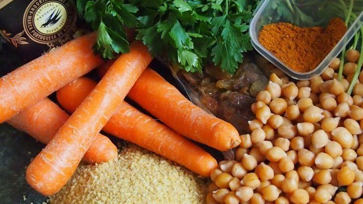 sałatka marokańska bulgur