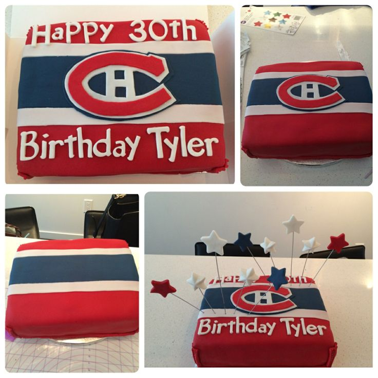 Go Habs :) cake by me!