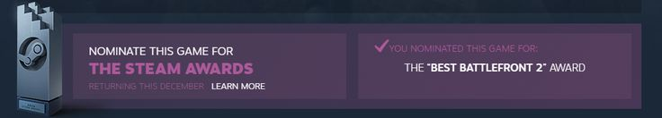 The Best Write-in Candidate for the Steam Awards