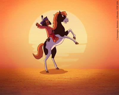 Yakari - je voulais avoir Petit Tonnerre comme cheval...