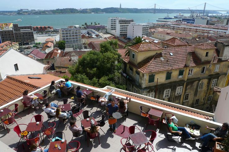 Noobai, Lisboa  Great place, great view