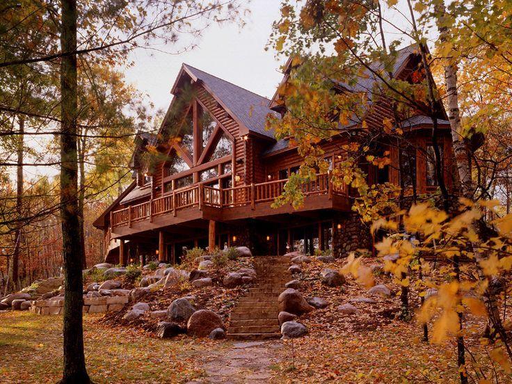 Log Cabins & Homes