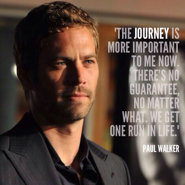 Quotes From Fast And Furious Paul Walker. QuotesGram