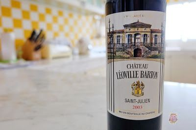 Chateau Leoville Barton 2003  #ChateauLeovilleBarton #SaintJulien #CabernetSauvignon #merlot #cabernetfranc #bordeaux #france #frenchwine #wine #redwine #deadlychubby