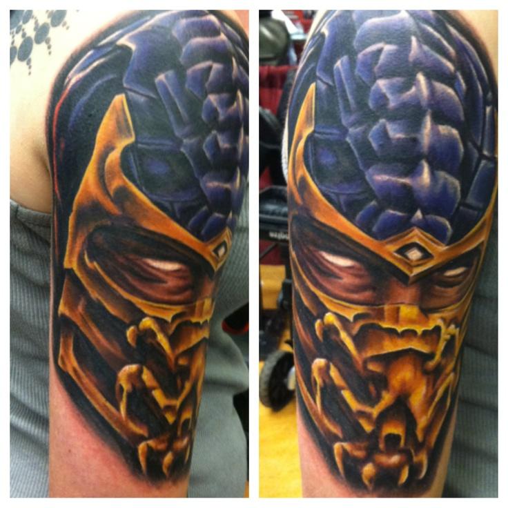 Tattoo Designs Mk: Scorpion Tattoo