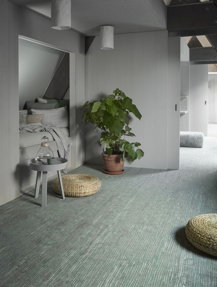 Botanical groen tapijt van Desso 7322-621