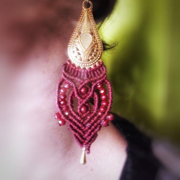 Boho earrings gipsy hippie