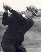 Sam Snead ~ (5/27/1912 - 5/23/2002) world famous golfer, resided in White Sulfur Springs, West Virginia.