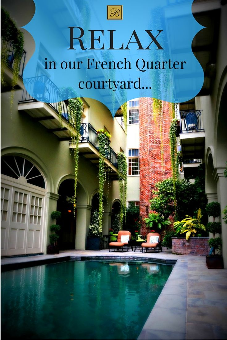 Bienville House Hotel offers a relaxing, beautiful French Quarter courtyard, tucked away in the heart of New Orleans, just steps from top attractions.