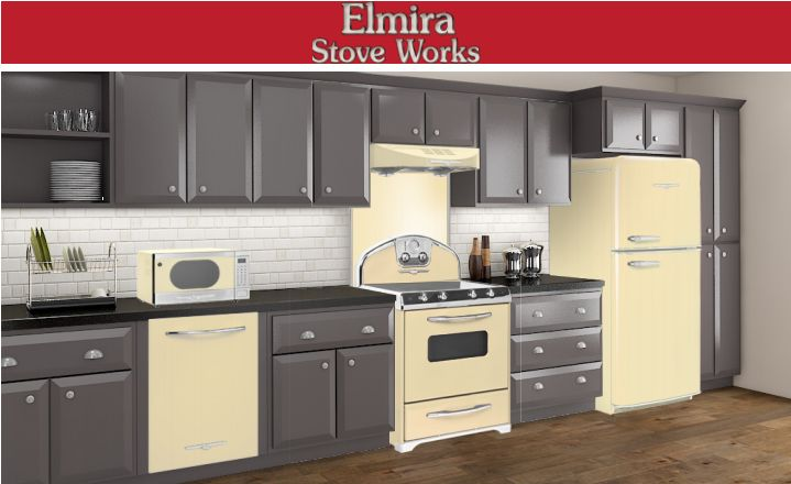57 Best Images About Timeless Retro Kitchens By Elmira On Pinterest Stove Retro Kitchens And
