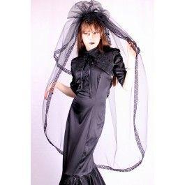 Voile Mariage Mariée Gothique Romantique