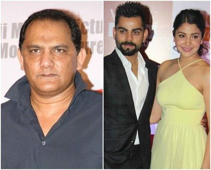 Mohammad Azharuddin blames press for being the villain in Virat Kohli-Anushka Sharma relationship : MagnaMags