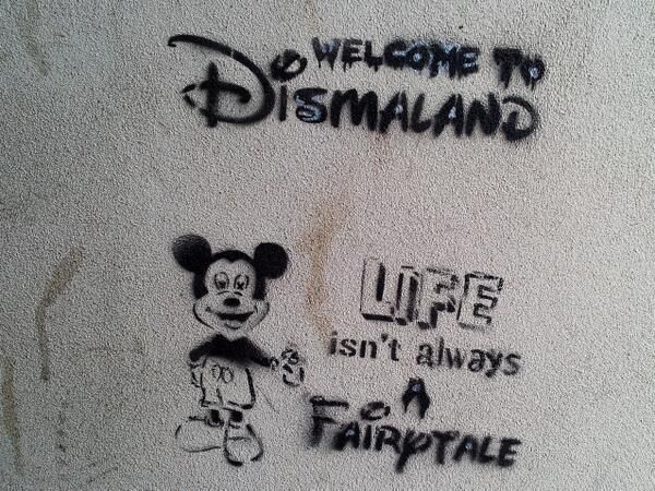 Banksy's opening a post-apocalyptic theme park called Dismaland in Weston-super-Mare