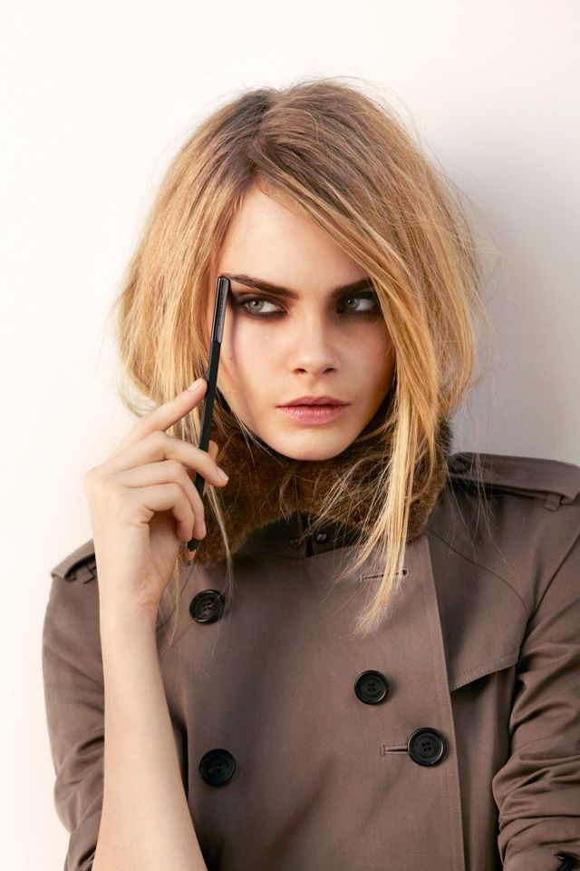 Behind the scenes of Burberry Beauty Autumn/Winter 2012