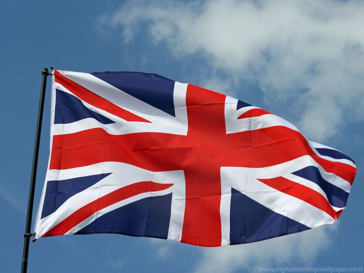 The Flag of the United Kingdom, commonly known as the Union Jack or Union Flag is the national flag of the United Kingdom.  The current design of the Union Jack dates from the union of Ireland and Great Britain in 1801.