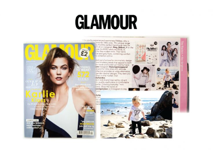 As seen in British Glamour Magazine | May 2016 Edition