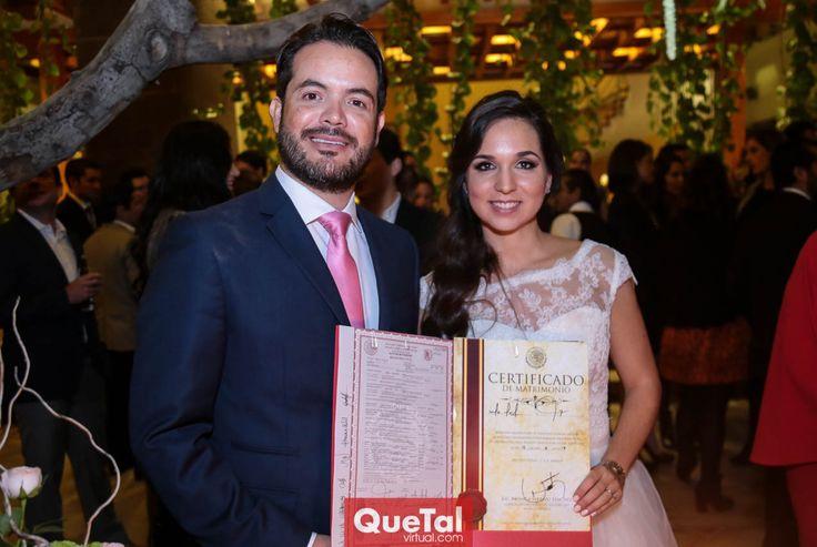 Diego Hernández y María José Leal de Hernández.