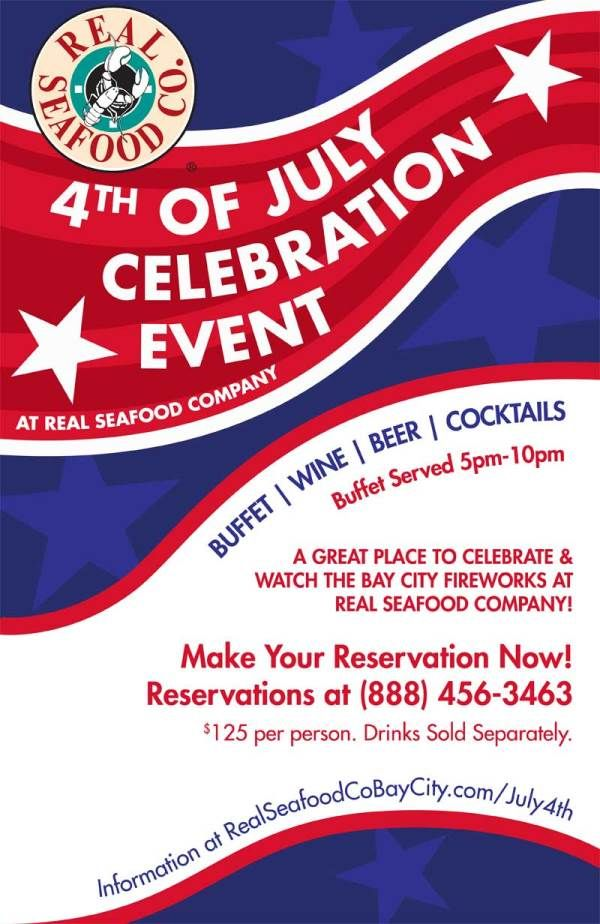 4th of July Celebration Call for details or visit: http://goo.gl/4UBdyw   #BayCity #GoGreat #PureMichigan #fireworks