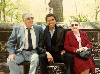 Barack and grandparents