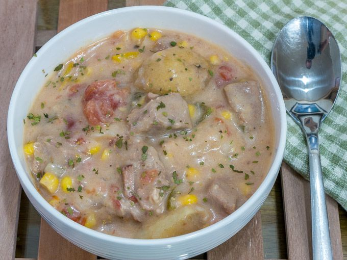 Hearty Scotch Pork Stew with Potatoes