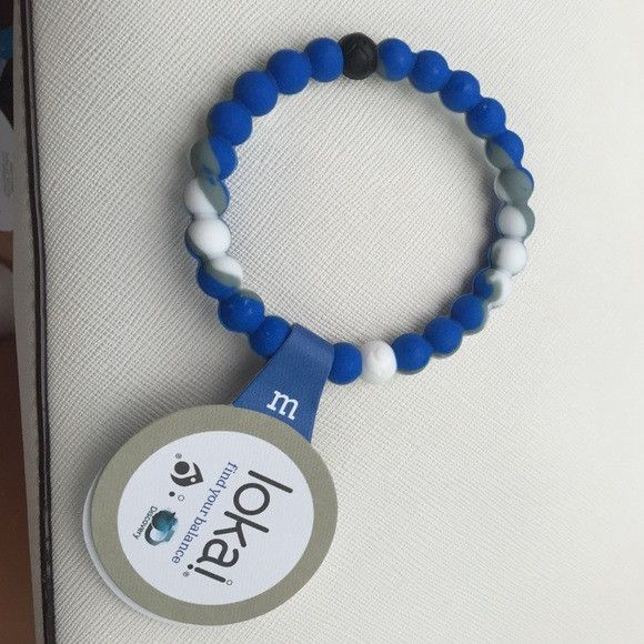 NWT Lokai Bracelets. SHARK. Available in S, M, L, XL. FREE SHIPPING!