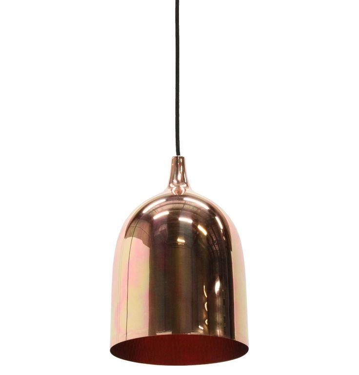odessa copper pendant matt blatt 295 17cm w x 28cm h